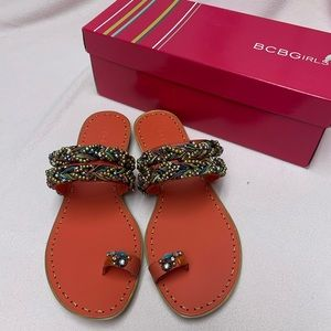 *NEW* BCBG Women's Multi Color Sandals